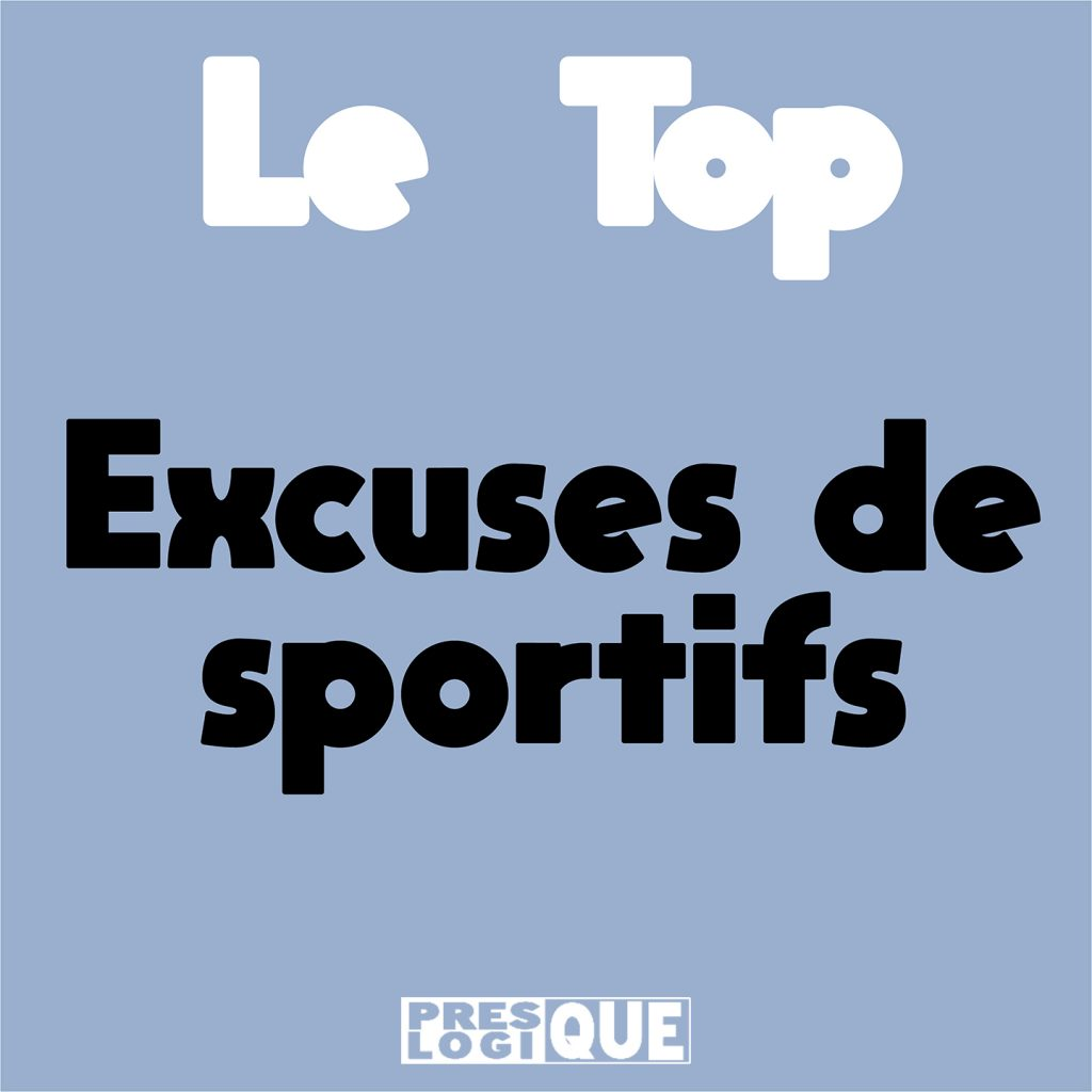 excuse de sportif