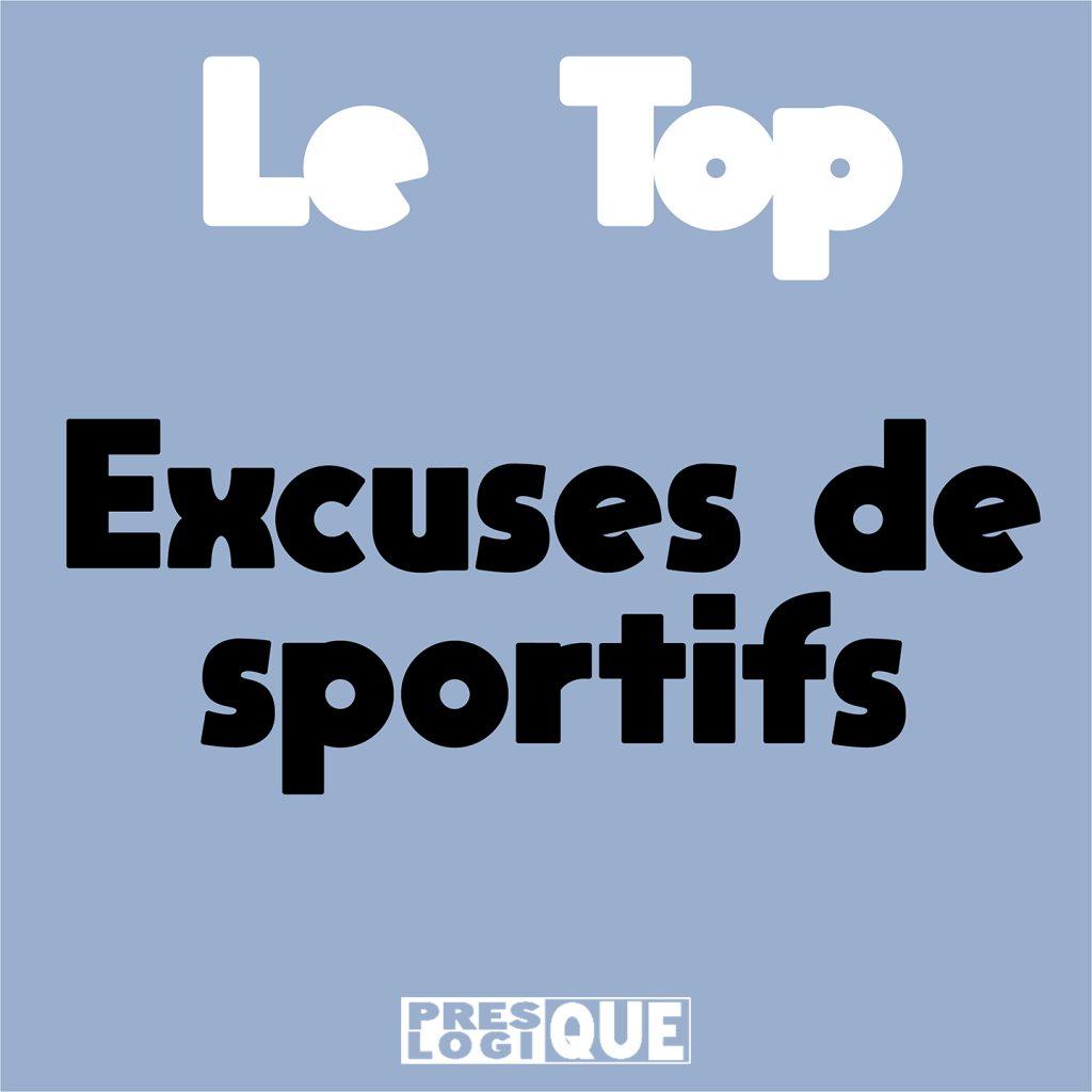 excuse de sportif