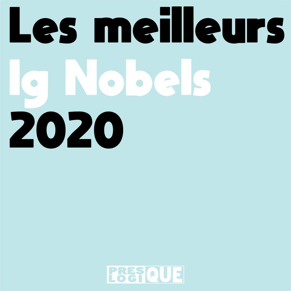 Les meilleurs Ig Nobels 2020